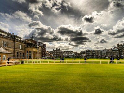 Skotsko | St. Andrew, výhra Golf Hostivař