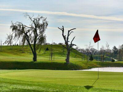 golfová jamka č. 3 - Golf Hostivař